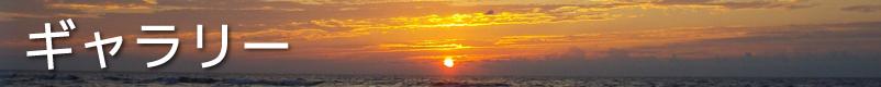 夕撮れ日本海