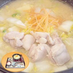 まつやのとり野菜鍋定食