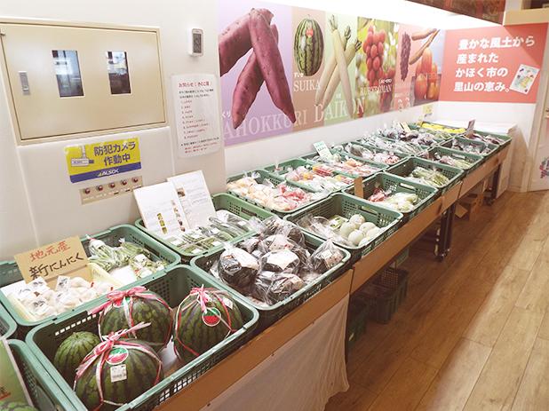 かほく市特産ブランド認証品のお菓子もあり、地元のお土産を買うなら要チェック!